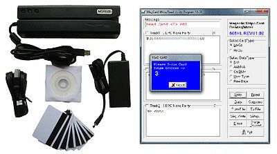 magnetic stripe card reader writer mag swipe card encoder MSR206 MSR606 MSR605