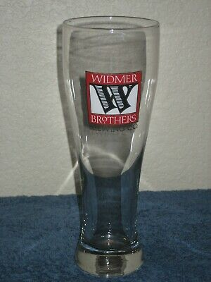 WIDMER BROTHERS Brewing Co. Tall Beer Glass 16oz