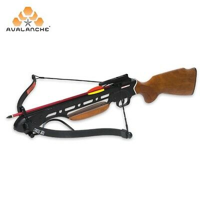Avalanche Trailblazer Crossbow Wooden Rifle-Style Stock 150-lb.Draw