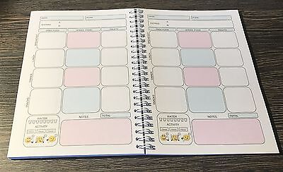 6mth Diet Diary Slimming World Compatible Food Tracker Journal Notebook - BOOK 6