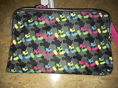 Disney Mickey Mouse Bright Crossbody Clutch Authentic