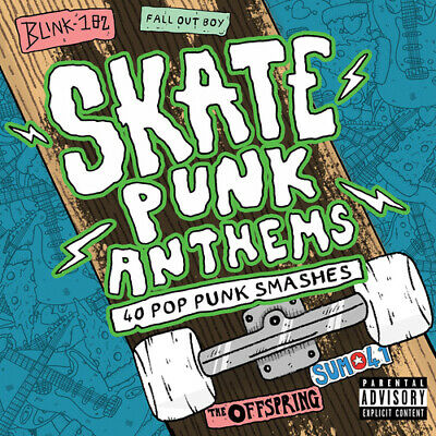 Various Artists : Skate Punk Anthems CD 2 discs (2016) FREE Shipping, Save £s
