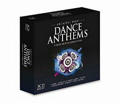 Various - Greatest Ever Dance Anthems - Various CD E0VG The Cheap Fast Free Post