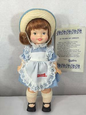 NEW Horsman Little DEBBIE Doll Snack Cake Mascot Ad Girl 1984 Anniversary 25th