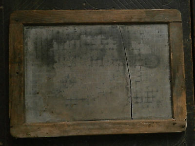 Old Rare Antique School Board Plate For Writing
