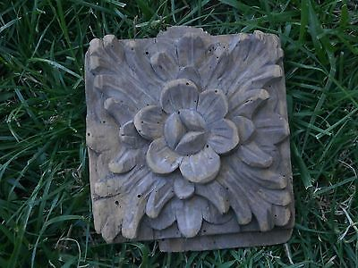 Vintage Antique Wooden Carving Decoration