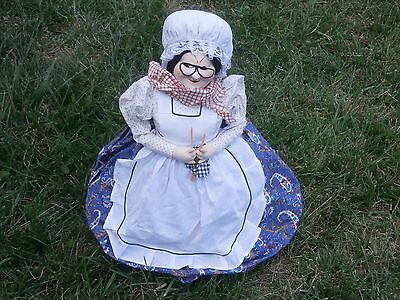 Antique Vintage Big Russian Doll Grandmother
