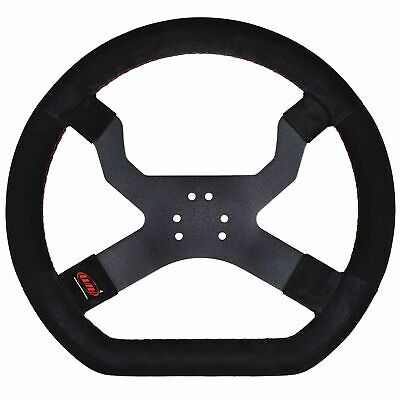 AIM Motorsport MyChron5 Go-Kart/Karting/Racing Steering Wheel - 6 Hole / Black