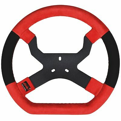 AIM Motorsport MyChron5 Go-Kart/Karting/Racing Steering Wheel - 3 Hole / Red