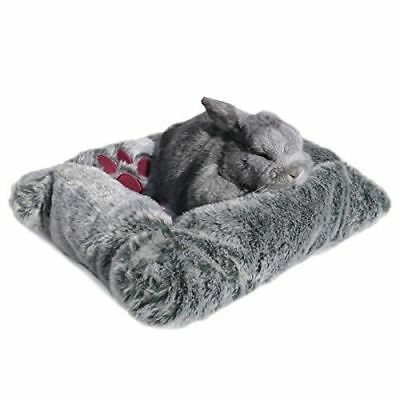 Rosewood Luxury Plush Pet Bed Cushion For Small Animal Rabbit Dog Cat Ferret