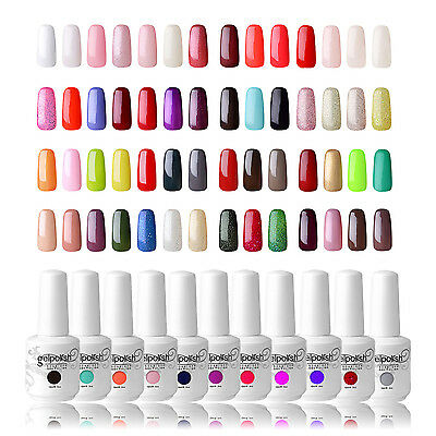 Gelpolish SoakOff UV LED Color Gel Polish 15ml Nail Art Top Base Foundation Coat