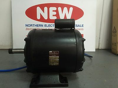 Crompton Parkinson 1100 Watts (1.1Kw) Single Phase A.c Motor Made In Doncaster