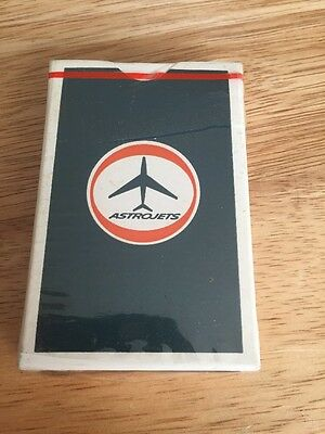 American Airlines Playing Cards Deck Airplane Collectible Sealed ASTROJETS