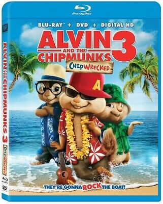 Alvin & the Chipmunks: Chipwrecked [New Blu-ray] Pan & Scan, With Movie Cash