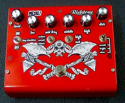 Richtone Metal! Electric Guitar Effects Pedal