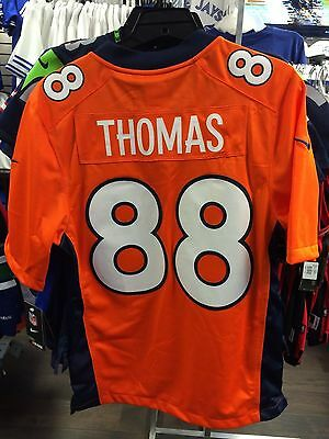 Men's Denver Broncos Demaryius Thomas Limited Jersey NFL Football XX-Large Home