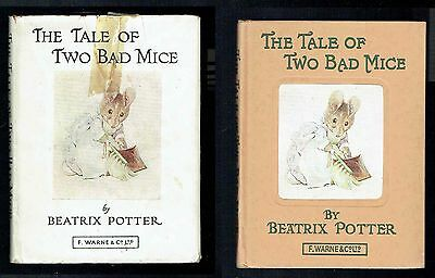 The Tale of Two Bad Mice - Beatrix Potter - Warne & Co - Copyright 1904