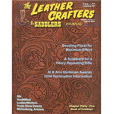 Leather Crafters & Saddlers Journal Back Issues Clearance Sale - 2009 Issues