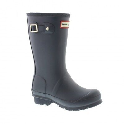 Hunter Original Kids - Navy (Synthetic) Childrens Wellies