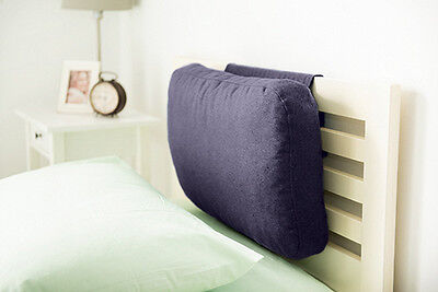 Sapphire Wool Feel Headboard Cushion Bed Rest Head Board Neck Support Cushion