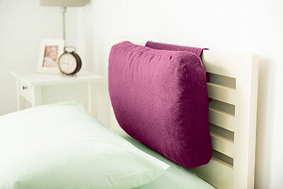 Thistle Wool Feel Headboard Cushion Bed Rest Head Board Neck Support Cushion