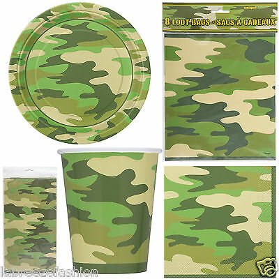 Camouflage Pattern Cufflinks in Gift Box camo print army armed forces NEW