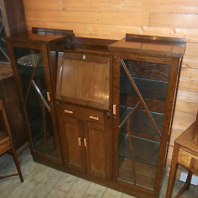Art Deco Bureau  Display Cabinet Owned by Olympic Medal Champion Cyclist 1948