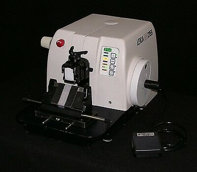 Leica Model Rm2155 Motorized Microtome - Fully Reconditioned