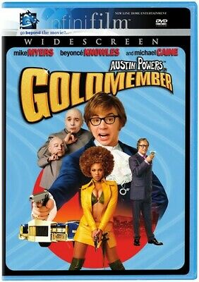 Austin Powers Goldmember Dvd Widescreen Mike Myers Beyonce 2002 Dvd Infinifilm