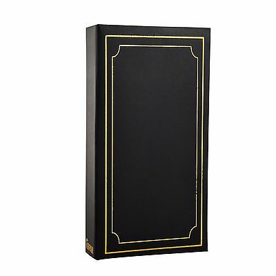 Arpan '6x4' Plain Photo Album with 300 Pockets- Ideal Gift  -Black AL-9810