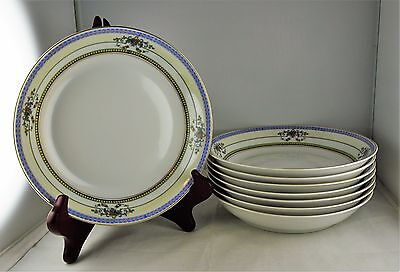 8 Heinrich & Co. Selb Bavaria China Coupe Soup Bowls