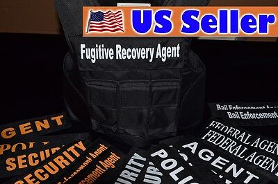 FUGITIVE RECOVERY 3A SIZE MED Body Armor Bullet Proof / Stab Proof  Vest NEW!!!
