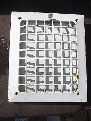 Cast Iron Wall Heating Grate Antique