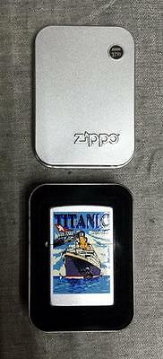 Zippo TITANIC Lighter New in Box FREE DOMESTIC SHIPPING