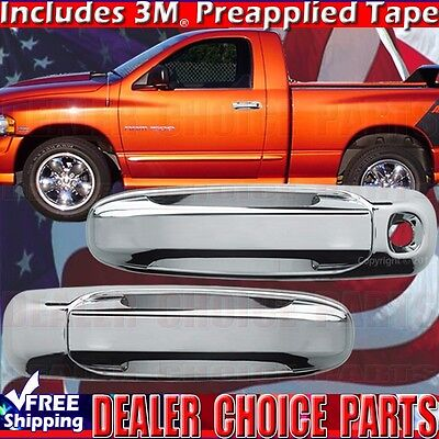For 2009-2012 Dodge Ram 1500 FULL Chrome ABS Mirror Covers NonTowing W//Signal