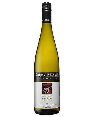 Sorby Adams Jellicoe Riesling 2007 case of 6 Dry White Wine 750mL