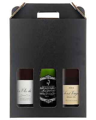 Grand Cru Red Burgundy & Champagne 3 Pack bottle France