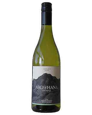 Arowhana Marlborough Sauvignon Blanc 2014 case of 12 Dry White Wine 750mL