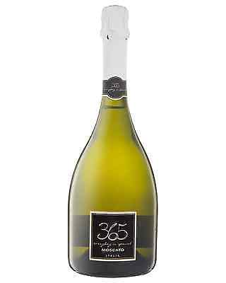 365 Italian Moscato 2016 case of 6 Sparkling Sweet Wine 750mL
