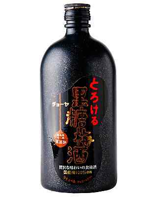 Choya Kokuto Umeshu 720mL case of 6 Sake