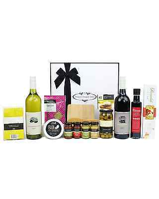 Pamper Hamper Gifts The Gourmet Connoisseur Food & Wine Share Hamper Hapmers
