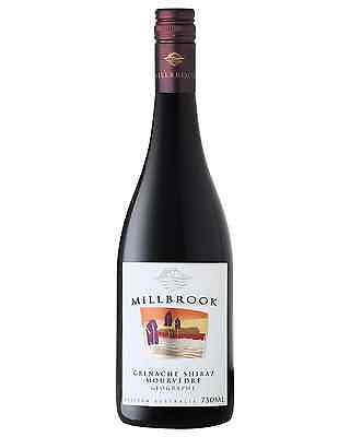 Millbrook Grenache Shiraz Mourvedre 2013 case of 12 Dry Red Wine 750mL Geographe