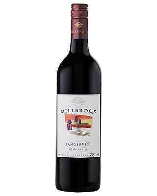 Millbrook Sangiovese 2013 case of 12 Dry Red Wine 750mL Geographe