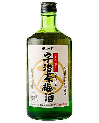 Choya Uji Green Tea Umeshu 720mL case of 6 Sake