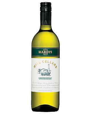Hardys Mill Cellars Chardonnay 2015 case of 12 Dry White Wine 750mL