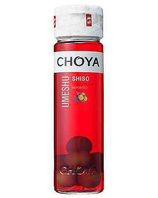 Choya Shiso 650mL case of 12 Sake