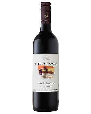 Millbrook Tempranillo 2013 case of 12 Dry Red Wine 750mL Geographe