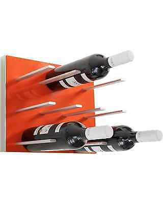 STACT Wine Rack, Electric Orange Bar Accessories