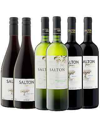 Salton Mixed Pack bottle Dry Red Wine 750mL Brazil