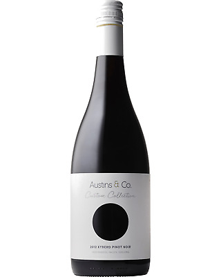 Austins & Co. Custom Collection 'Ireland' Pinot Noir 2012 bottle Dry Red Wine